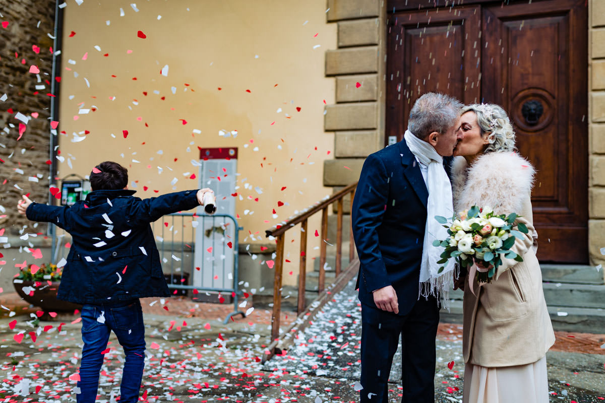 intimate winter wedding arezzo 18 1