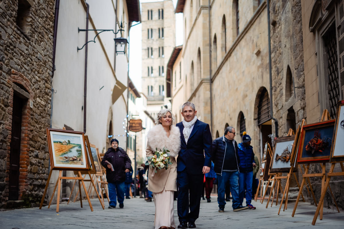 intimate winter wedding arezzo 29 1