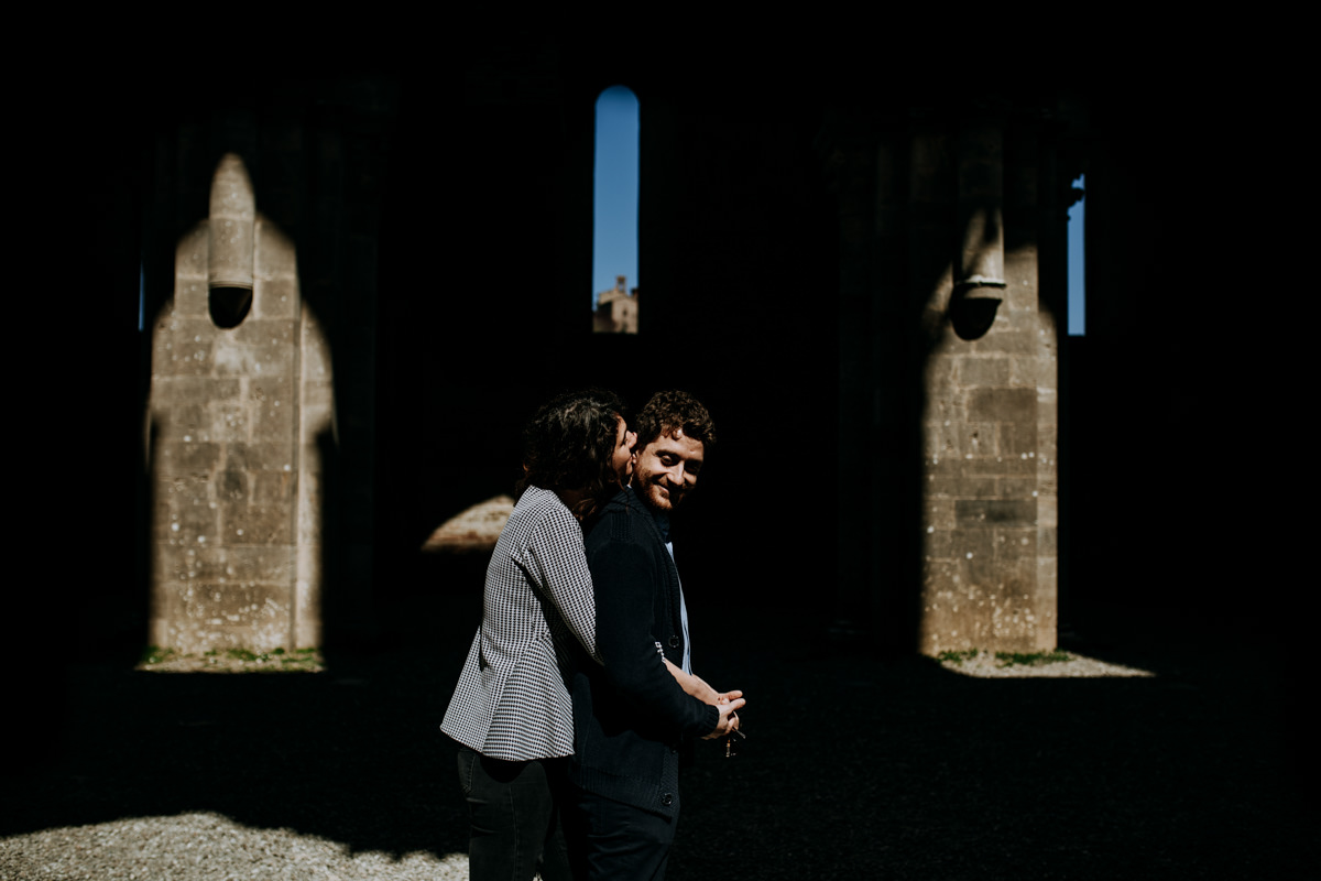 engagement photographer san galgano abbey 6