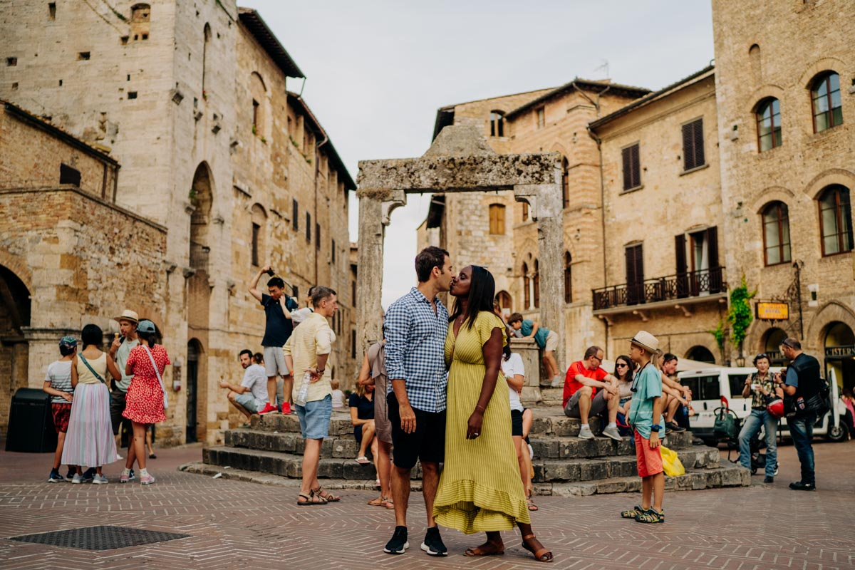 engagement photography san gimignano 1