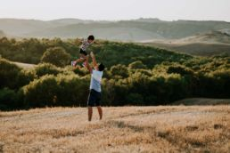 Family Vacation Photographer in Pienza 11